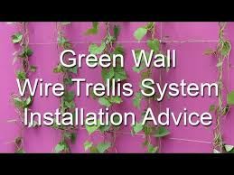 Stainless Steel Trellis System Wire Trellis Video Installation Guide S3i Group Youtube