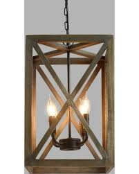 Wood Iron Chandelier Snag These Savings 20 Gray Wood And Iron Valencia