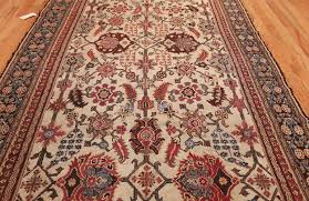 ivory rugs and narrow ivory antique indian agra rug 3200 by nazmiyal rugs
