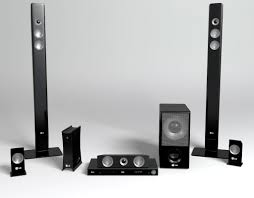 3d home theater system home theatre system 3d model free home box ideas