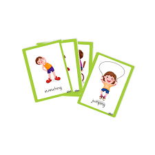 words cards flash cards doing words grow learning company