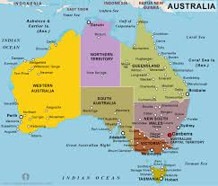 map of aus free australia political map political map of australia