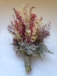 fall bridal bouquet wedding dried bridal party bouquets dried