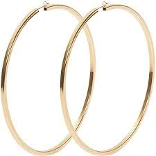gold hoops earrings 35 best earrings images on jewelry gold hoops and gold