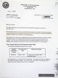 va disability compensation award letter affordableochandyman com