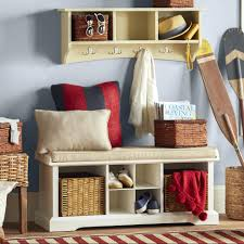 Mud Bench Mudroom Bench With Storage And Hooks Entry Bench With Shoe Storage