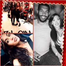 Great Lengths Hair Extensions San Diego by Julius Peppers And Model Claudia Sampedro Greatlengths