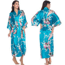 robe de chambre en soie femme 3xl grande taille satin robes femmes robe plus la robe de
