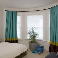 curtain amazing bow window curtain rods bay window curtain rods
