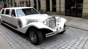 first rolls royce excalibur stretch limo youtube