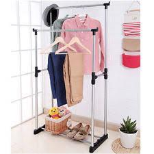 double garment rack ebay