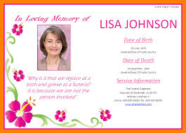 funeral invitation template 4 funeral invitation template homed