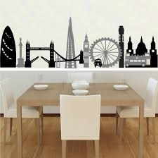 wall decals for dining room london montage wall stickers u0026 decals