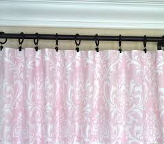 Light Pink Window Curtains Pink Window Curtains Light Pink Drapes Pink Gray Curtain Gray