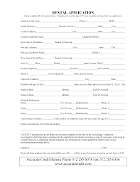 rent lease form template examples