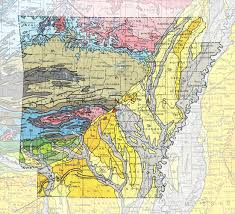 Map Of 50 States by Geologic Maps Of The 50 United States Arkansas Usa