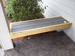front porch bench between columns afuera pinterest front