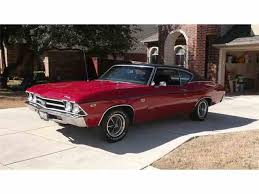 1969 Chevelle Interior 1969 Chevrolet Chevelle Ss For Sale On Classiccars Com 24 Available