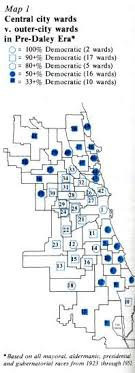 40th ward chicago map the consolidation of clout illinois issues february 1979