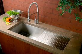 Kitchen Sinks With Drainboards Single Bowl Kitchen Sink Stainless Steel Commercial With