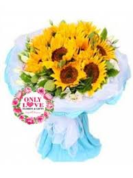 Sunflower Bouquets Sunflower Bouquets Only Love Florist U0026 Gifts