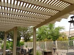 Pergola Roof Cover by Alumawood Lattice Pergola Installer