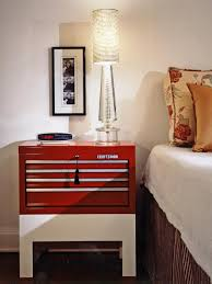superb diy bedside table with captivating human picture on nice