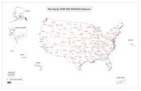 New Mexico On Us Map by Nexrad And Tdwr Radar Locations