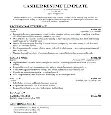 cashier resume template jcpenney cashier resume cashier resume template simple cashier