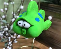 puffer fish ornament etsy