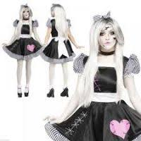 Porcelain Doll Halloween Costume Dress Halloween Porcelain Doll Mask Bootsforcheaper