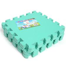 Pick Color by 9pcs Eco Soft Foam Tile Interlocking Foam Floor Kid Play Puzzle