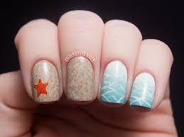 beauty and the beach chalkboard nails nail art blog