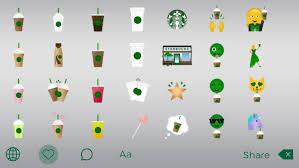 starbucks launches new emoji keyboard fit for a caffeine addict