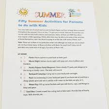free printable list of summer activities for kids u2013 at home with zan