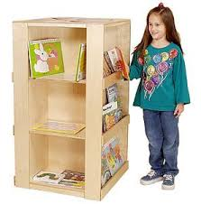Bookshelf Book Holder Book Display Units For Daycare And Preschool Center Book Stand