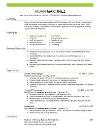 resume exles free general manager resume magnificent general manager resume exles