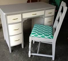 grey desk with drawers off white desk freedom to