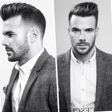 coupe cheveux homme dessus court cot coiffure homme court cote les tendances mode du automne hiver 2017