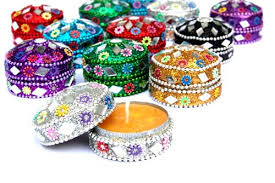 Indian Wedding Favors From India Indian Party Wedding Favors Set Of 12 Scented Candles In Mix Of
