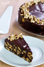 no bake chocolate biscuit cake home cooking adventure