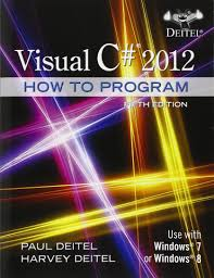 visual c 2012 how to program 5th edition paul deitel harvey