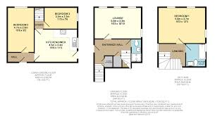 Gatwick Airport Floor Plan 3 bed town house for sale in union close newhaven bn9 41328007