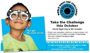 World Blindness Day Primary Health Net Current Optical News April June 2014