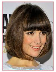 latest hairstyles bob hairstyles for fine hair with fringe best