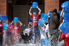 Water Challenge Steps Gov Baker Takes Challenge For Als Research Wbur News
