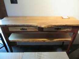 live edge desk with drawers furniture white gloss hall table with drawers hallway console