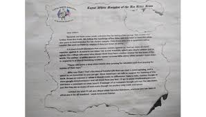 Bible College Acceptance Letter niagara wire receives letter from kkk niagarauniv iamvincent