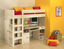 Bunk Bed Computer Desk Cool Bunk Beds With Desk Bunk Beds Single Bunk Bed With Desk