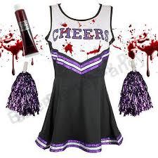 Zombie Cheerleader Zombie Cheerleader Women U0027s Fancy Dress Ebay